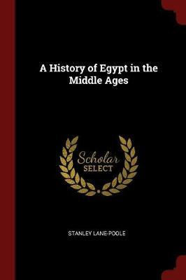 A History of Egypt in the Middle Ages by Stanley Lane Poole image