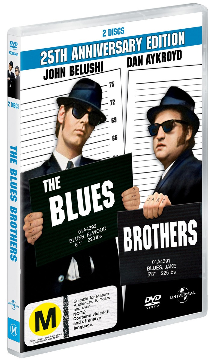 The Blues Brothers - 25th Anniversary Edition (2 Disc Set) on DVD image