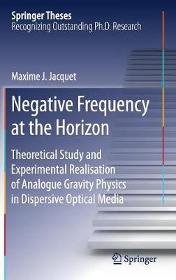 Negative Frequency at the Horizon by Maxime Jacquet