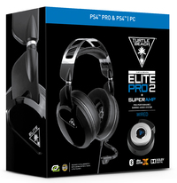 Turtle Beach Elite Pro 2 + Superamp Gaming Headset - Black for PS4