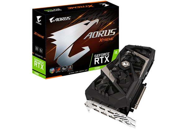 Gigabyte AORUS RTX 2080 Xtreme 8GB GDDR6 RTX PCIE GPU