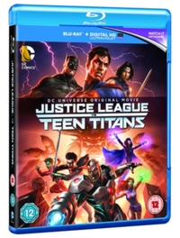 Justice League Vs Teen Titans on Blu-ray