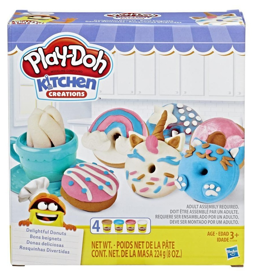 Play-Doh: Kitchen Creations - Delightful Donuts Set image