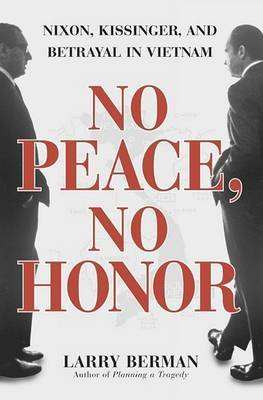 No Peace No Honor by Larry Berman image