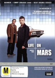 Life On Mars - Series 2 (UK) (4 Disc Set) on DVD