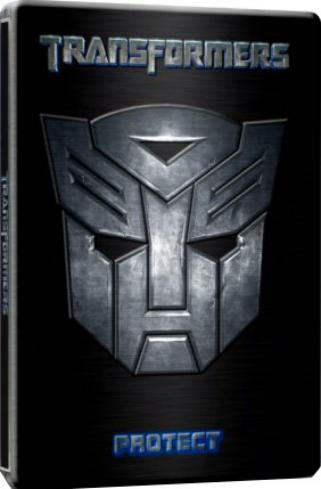 Transformers - Steelbook Case Packaging (1 Disc) on DVD