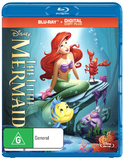 The Little Mermaid on Blu-ray