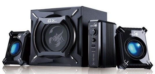 Genius SW-G2.1 2000 2.1CH Gaming Woofer Speaker System for  image