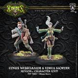 Hordes: Minions Lynus Wesselbaum & Edrea Lloryrr Character Unit