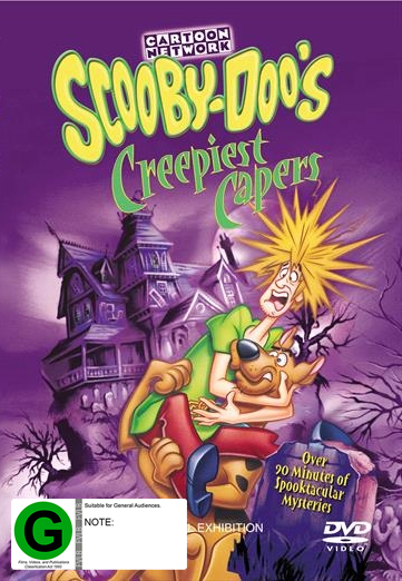 Scooby Doo's Creepiest Capers on DVD