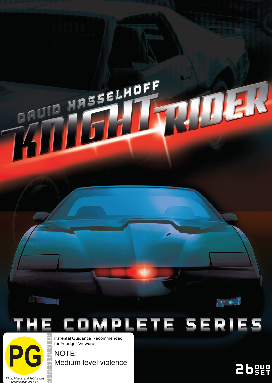 Knight Rider - Complete Collection on DVD image
