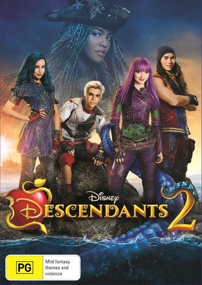 Descendants 2 on DVD image
