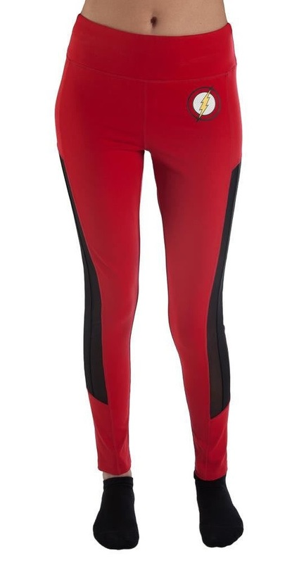DC Comics: Flash Active Leggings - (Large)