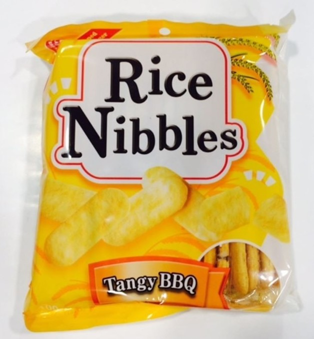 Rice Nibbles (Tangy BBQ Flavour) 100g 10pk