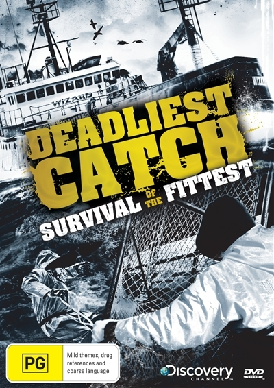 Deadliest Catch: Survival of the Fittest on DVD
