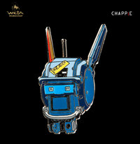 CHAPPiE Head Collectible Pin