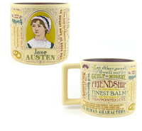 The Unemployed Philosophers Guild Mug - Jane Austen