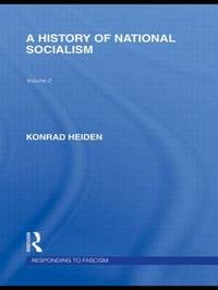 A History of National Socialism by Konrad Heiden image