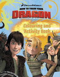 """How to Train Your Dragon"" - Colouring and Activity Book image"