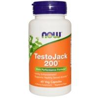 Now Foods TestoJack 200 mg (60 Vege Caps)