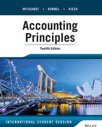 Accounting Principles by Jerry J. Weygandt