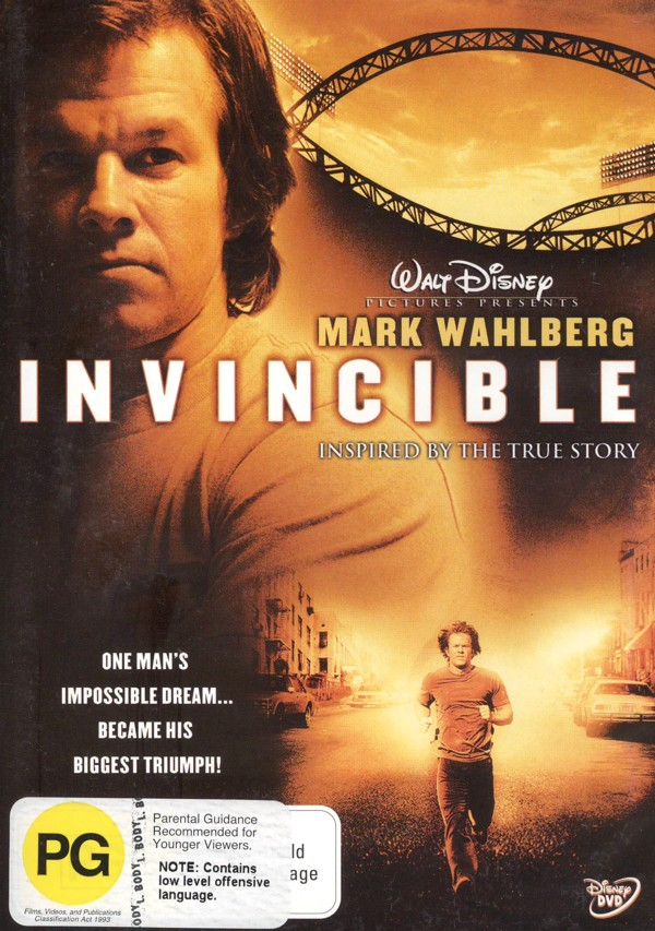 Invincible on DVD image