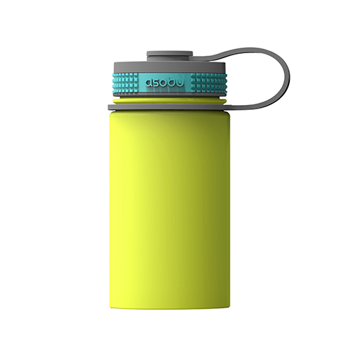 Asobu Mini Hiker Insulated Flask - Lime (355ml)