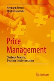 Price Management by Hermann Simon