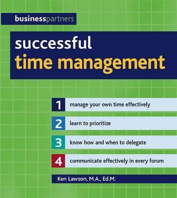 Successful Time Management by Ken Lawson image