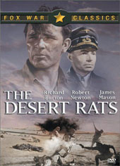 The Desert Rats on DVD