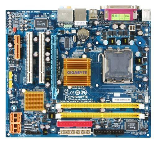 GIGABYTE G31MX-S2 MATX VGA LGA775