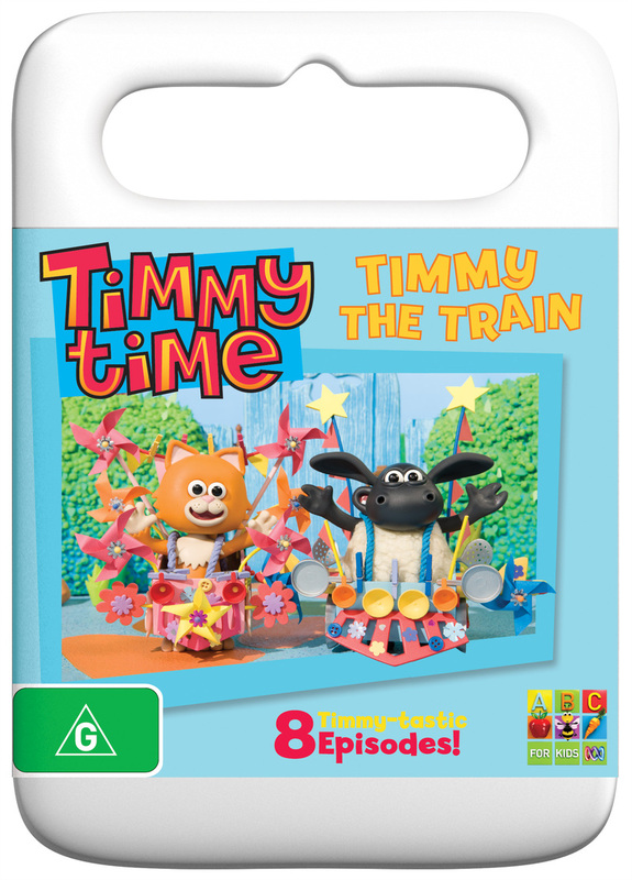 Timmy Time: Timmy The Train on DVD