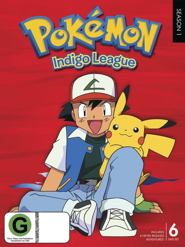 Pokemon - Season 1: Indigo League on DVD