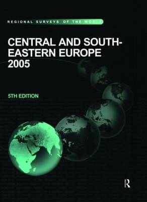 Central and South Eastern Europe by Barry Harrison image