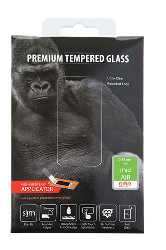 OMP Glass Screen Protector for iPad Air