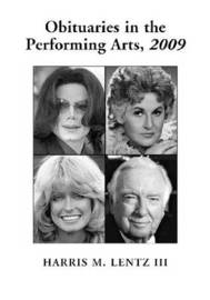 Obituaries in the Performing Arts, 2009 image
