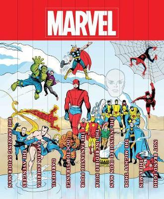 Marvel Famous Firsts: 75th Anniversary Masterworks Slipcase Box Set by Wally Wood image