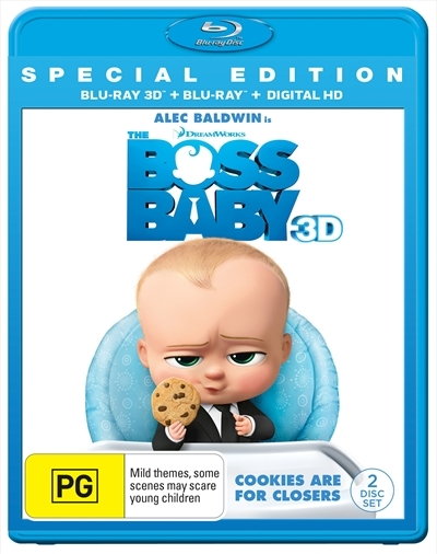 The Boss Baby - 3D Special Edition on Blu-ray, 3D Blu-ray
