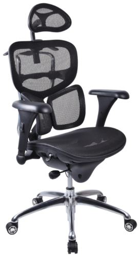 Croxley Workpro Mesh Back Executive Chair (Black)