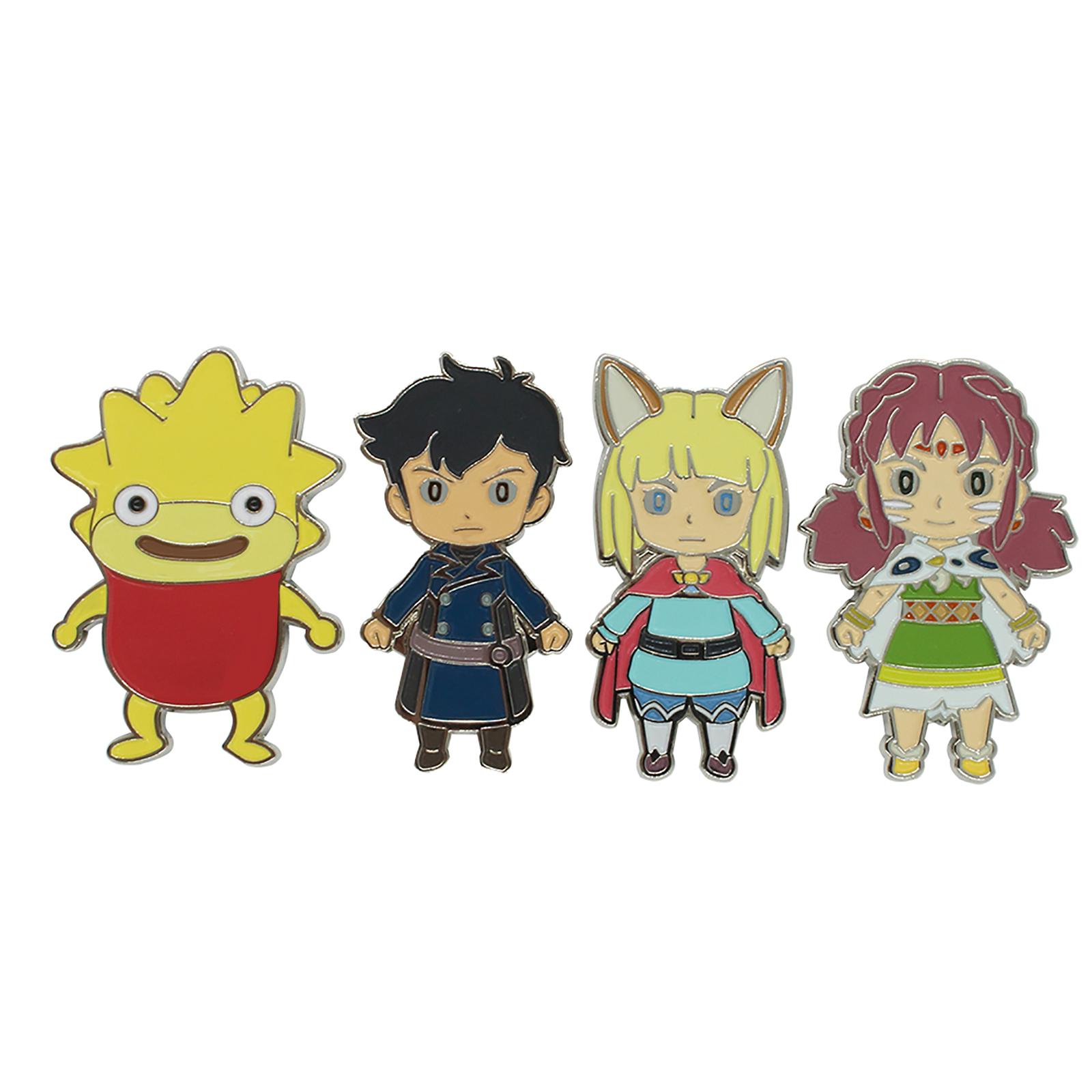 Ni-No-Kuni 2 Character Magnet set image