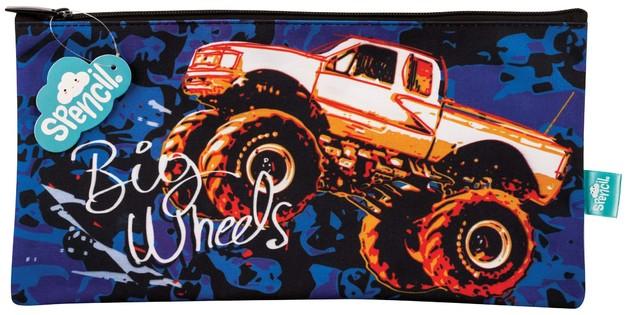 Spencil: Big Wheels II - Rectangle Pencil Case