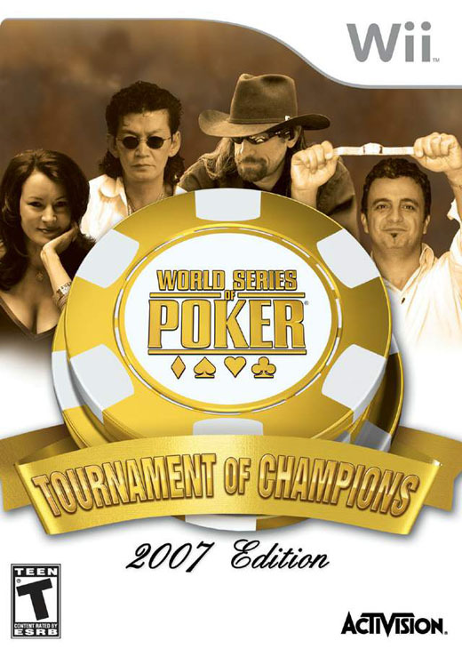 World Series of Poker 2007: Tournament of Champions for Nintendo Wii