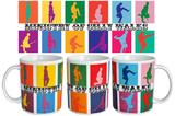 Monty Python Silly Walk Warhol Mug Ceramic Mug