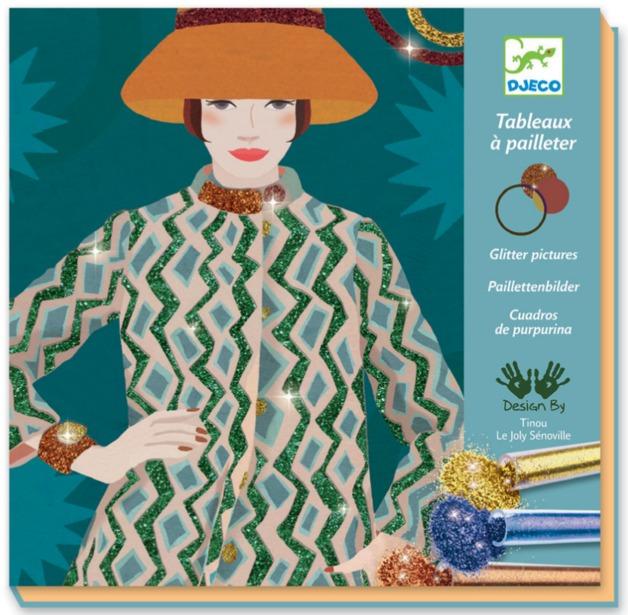 Djeco: Design - Glitter Boards Fashion