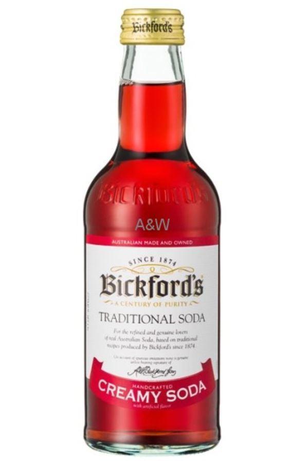 Bickfords Traditional Soda - Creamy Soda (275ml) image