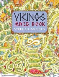 Viking Maze And Puzzle Book by Stephen Axelsen image