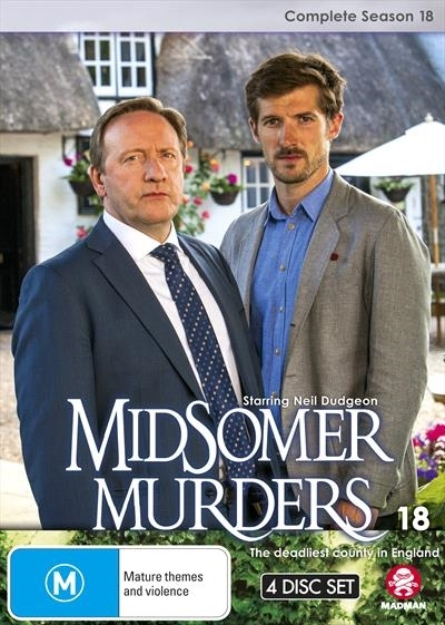 Midsomer Murders: Complete Season 18 (Single Case Version) on DVD image