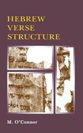 Hebrew Verse Structure by Michael Patrick O'Connor