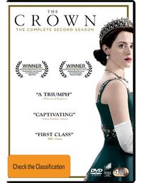 The Crown Season 2 on DVD