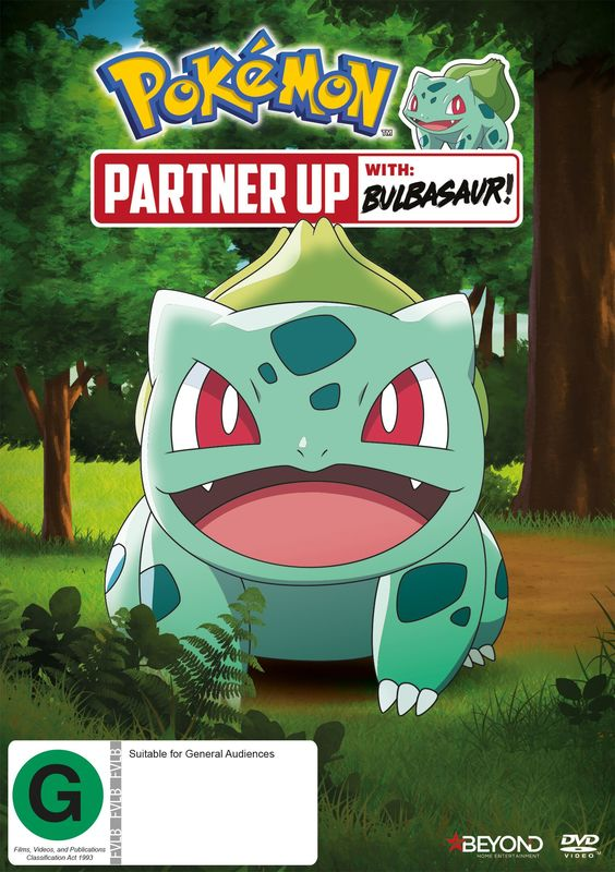 Pokemon: Partner Up With Bulbasaur! on DVD